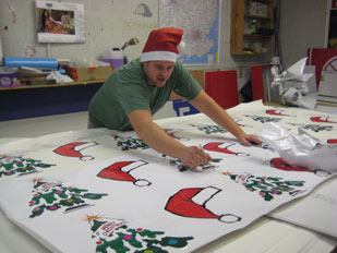 Chris - Eastcote Signs - Christmas Vehicle Graphics